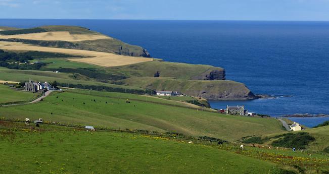 Grampian coastline