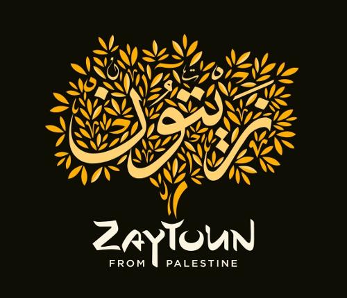 Zaytoun from Palestine logo of olive tree